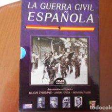 Cine: DVD-LA GUERRA CIVIL ESPAÑOLA-6 DVD. Lote 156150590