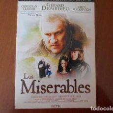 Cine: DVD-LOS MISERABLES. Lote 156151734