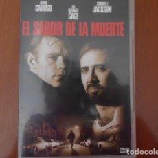 Cine: DVD-EL SABOR DE LA MUERTE. Lote 156152194