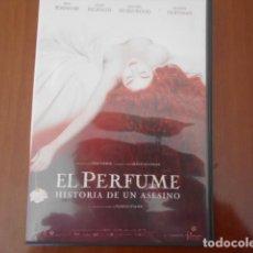 Cine: DVD-EL PERFUME-HISTORIA DE UN ASESINO. Lote 156153218