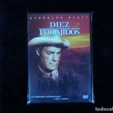 Cine: DIEZ FORAJIDOS - DVD NUEVO PRECINTADO. Lote 156176210