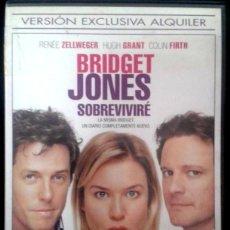 Cine: DVD BRIDGET JONES SOBREVIVIRE CON RENEE ZELLWEGER, HUGH GRANT Y COLIN FIRTH. Lote 156186514