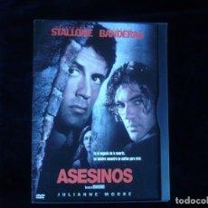 Cine: ASESINOS SYLVESTER STALLONE ANTONIO BANDERAS. Lote 156188354