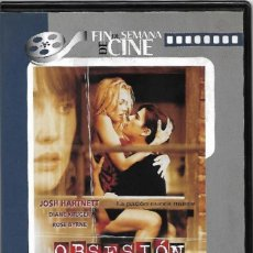Cine: DVD OBSESION CON JOSH HARTNETT, DIANE KRUGER Y ROSE BYRNE. Lote 156190126