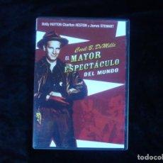 Cine: EL MAYOR ESPECTACULO DEL MUNDO. Lote 156191190