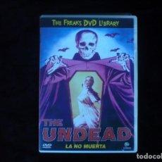 Cine: LA NO MUERTA THE UNDEAD. Lote 156192238