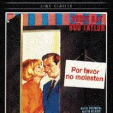 Cine: POR FAVOR, NO MOLESTEN DIRECTOR: RALPH LEVY ACTORES: DORIS DAY, ROD TAYLOR, HERMIONE BADDELEY. Lote 156193298