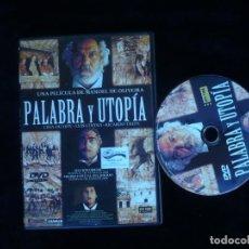 Cine: PALABRA Y UTOPIA. Lote 156193334