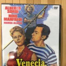 Cine: VENECIA,LA LUNA Y TÚ DVD -PRECINTADO. Lote 156198925