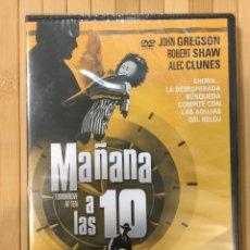 Cine: MAÑANA A LAS 10 DVD -PRECINTADO-. Lote 156199462