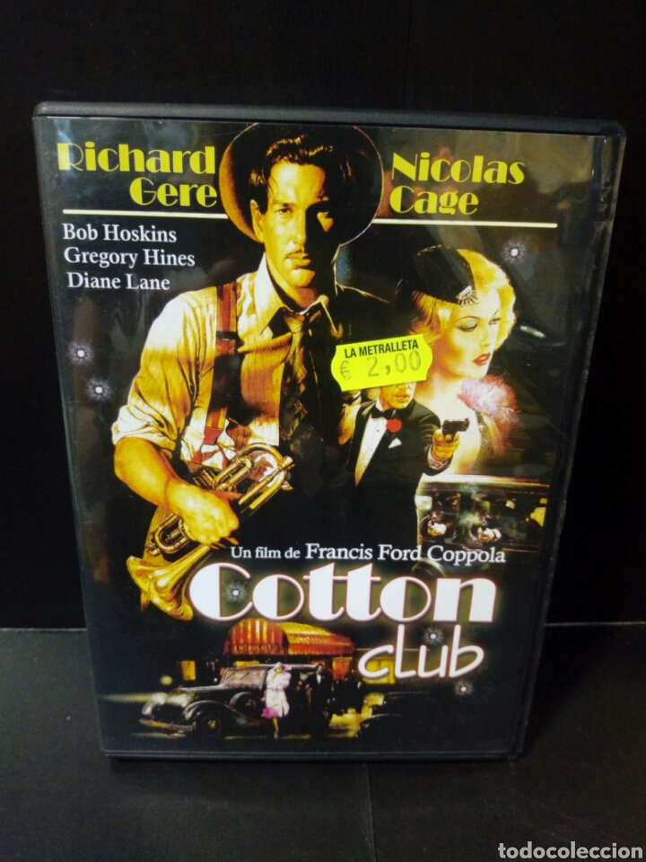 COTTON CLUB DVD (Cine - Películas - DVD)