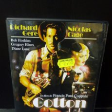 Cine: COTTON CLUB DVD. Lote 156253802