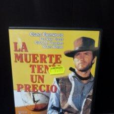 Cine: LA MUERTE TENÍA UN PRECIO DVD. Lote 171346719