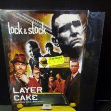 Cine: LOCK & STOCK- SNATCH CERDOS Y DIAMANTES- LAYER CAKE CRIMEN ORGANIZADO DVD. Lote 156285694