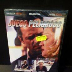 Cine: JUEGO PELIGROSO DVD. Lote 156289000
