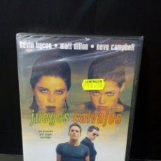 Cine: JUEGOS SALVAJES DVD. Lote 156289529