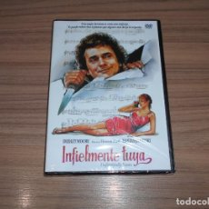 Cine: INFIELMENTE TUYA DVD DUDLEY MOORE NASTASSJA KINSKI NUEVA PRECINTADA. Lote 191398148
