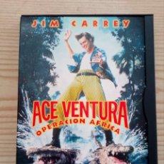 Cine: ACE VENTURA - OPERACION AFRICA DVD. Lote 156567970