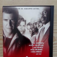 Cine: ARMA LETAL 4 DVD. Lote 156568174