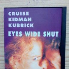 Cine: EYES WIDE SHUT DVD. Lote 156568646
