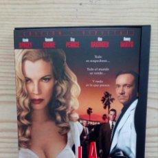 Cine: L.A. CONFIDENTIAL DVD. Lote 156568686