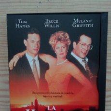 Cine: LA HOGUERA DE LAS VANIDADES DVD. Lote 156568734