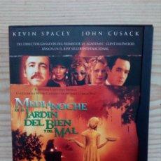 Cine: MEDIANOCHE EN EL JARDIN DEL BIEN Y DEL MAL DVD. Lote 156568762