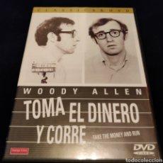Cine: TOMA EL DINERO Y CORRE. Lote 156569160