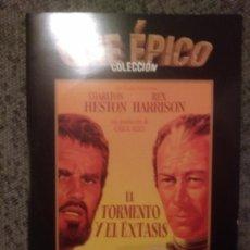Cine: CINE EPICO: TORMENTA Y EXTASIS.. Lote 156571332