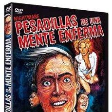 Cine: PESADILLAS DE UNA MENTE ENFERMA TERROR CULTO TRASH AÑOS 80. Lote 156571786