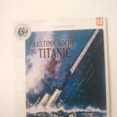 Cine: LA ULTIMA NOCHE DEL TITANIC.DVD.. Lote 156599172