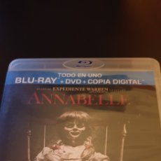 Cine: ANNABELLE (DVD + BLU-RAY). Lote 156667040