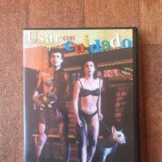 Cine: USAR CON CUIDADO DVD. Lote 156705096