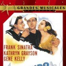 Cine: LEVANDO ANCLAS DIRIGIDA POR GEORGE SIDNEY CON FRANK SINATRA, GENE KELLY, KATHRYN GRAYSON. Lote 156873630