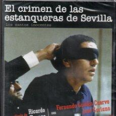 Cine: EL CRIMEN DE LAS ESTANQUERAS DE SEVILLA. DVD. NUEVO. ^PRECINTADO. VRICARDO FRANCO. HUELLA DEL CRIMEN. Lote 156898350