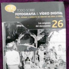 Cine: DVD *TODO SOBRE FOTOGRAFÍA & VÍDEO DIGITAL, LOS ORÍGENES DEL DOCUMENTAL 26* - 2010 - PRECINTADO. Lote 156899486