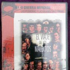 Cine: DVD *EL VIAJE DE LOS MALDITOS, STUART ROSENBERG, GLOBO DE ORO DE 1977* - 1976 PRECINTADO. Lote 156900238
