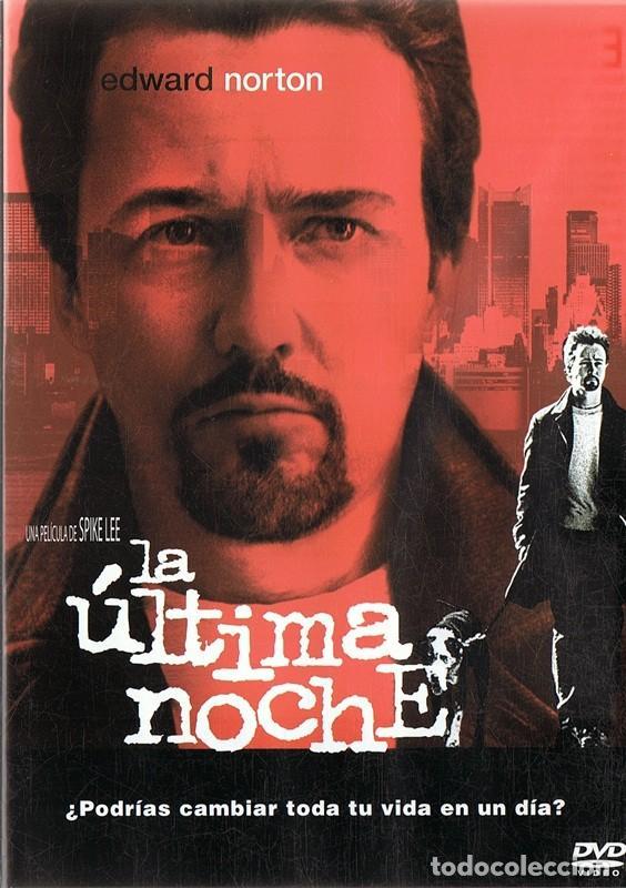 LA ÚLTIMA NOCHE EDWARD NORTON (Cine - Películas - DVD)