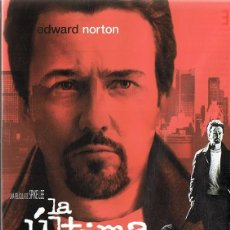 Cine: LA ÚLTIMA NOCHE EDWARD NORTON . Lote 156964314