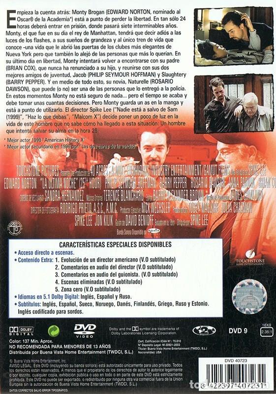 Cine: LA ÚLTIMA NOCHE EDWARD NORTON - Foto 2 - 156964314