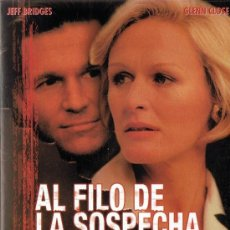 Cine: AL FILO DE LA SOSPECHA JEFF BRIDGES . Lote 156964630