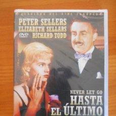Cine: DVD HASTA EL ULTIMO ALIENTO (NEVER LET GO) - PETER SELLERS - NUEVA, PRECINTADA (2L). Lote 156965406