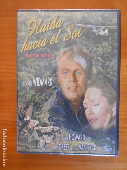 DVD HUIDA HACIA EL SOL (RUN FOR THE SUN) - RICHARD WIDMARK - NUEVA, PRECINTADA (2J) (Cine - Películas - DVD)