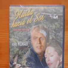 Cine: DVD HUIDA HACIA EL SOL (RUN FOR THE SUN) - RICHARD WIDMARK - NUEVA, PRECINTADA (2J). Lote 156965702