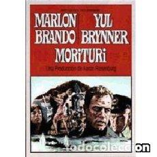 Cine: MORITURI DIRECTOR: BERNARD WICKI ACTORES: MARLON BRANDO, YUL BRYNNER, TREVOR HOWARD, MARTIN BENRAT. Lote 159118270