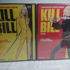 Cine: PACK KIL BILL 1 + KILL BILL 2 DVDS NUEVOS Y PRECINTADOS - QUENTIN TARANTINO. Lote 157013680