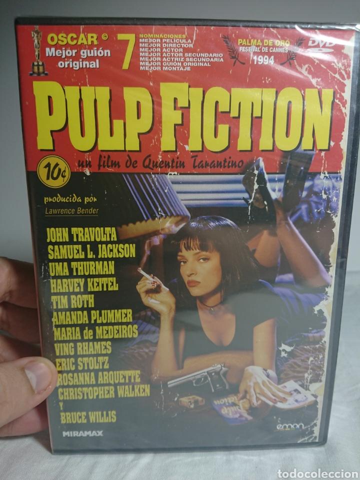 PULP FICTION DVD NUEVO Y PRECINTADO (Cine - Películas - DVD)