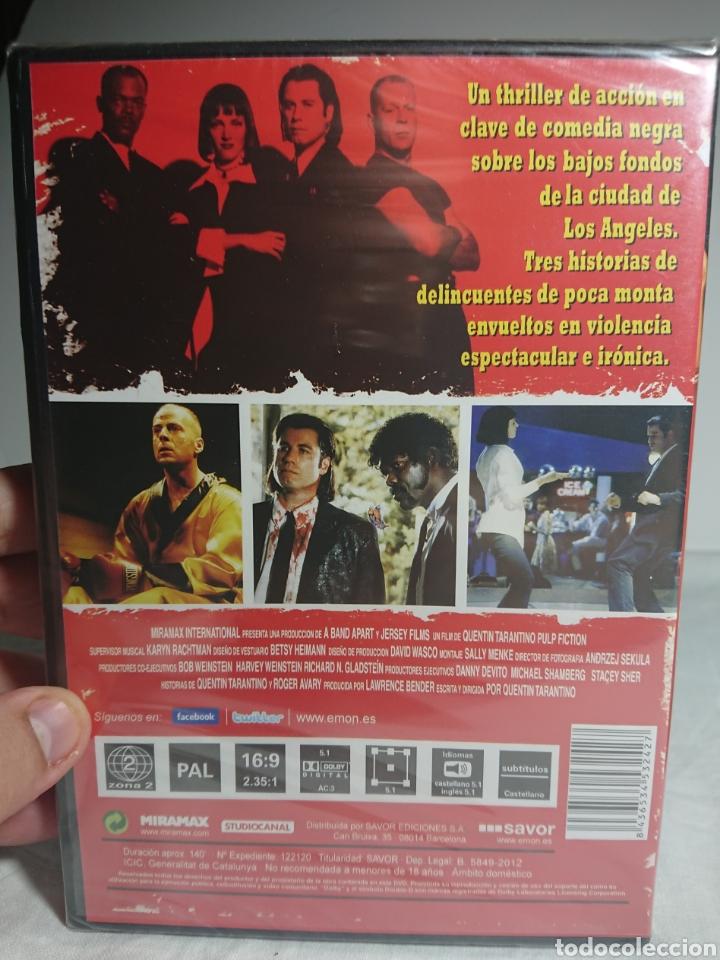 Cine: Pulp Fiction DVD Nuevo y Precintado - Foto 2 - 157014078