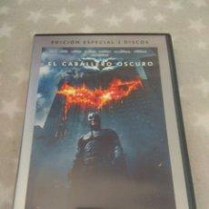 Cine: DVD. BATMAN. EL CABALLERO OSCURO. 2 DVDS.. Lote 157032645