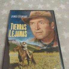 Cine: DVD. TIERRAS LEJANAS. CON JAMES STEWART.. Lote 157049802